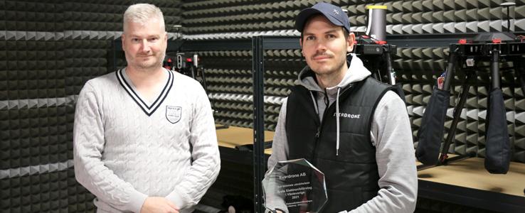 Everdrone är årets Elektronikföretag i Västsverige 2021